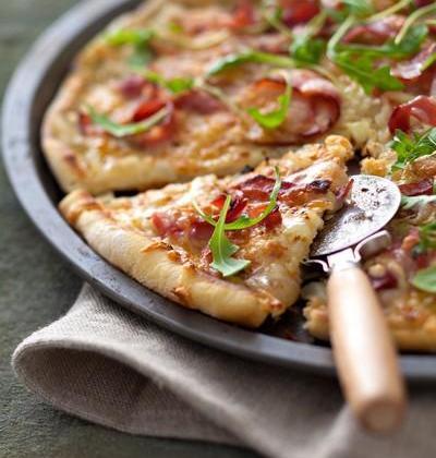 Pizza au jambon fumé et Sublime Filante - Photo par Giovanni Ferrari