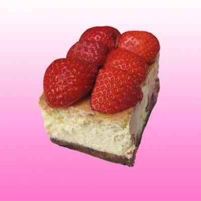 Cheesecake aux fraises et chocolat blanc - Photo par sophieqgJ