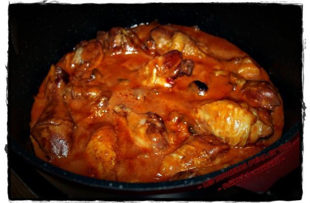 Cuisses de poulet à la méxicaine - Photo par Les douceurs d'Ema et Tom