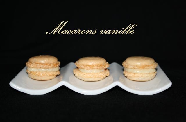 Macarons à la vanille - Photo par kriket