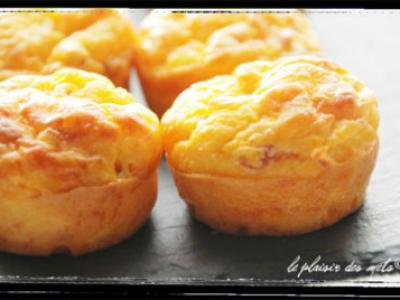 Mini muffins au potiron et comté - Photo par delphcotecuisine