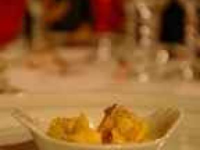 Cassolette de langouste flambée au cognac - Photo par gleche