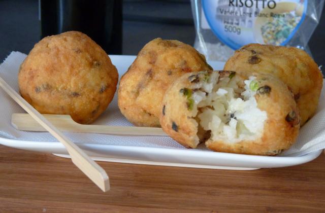 Boulettes de riz façon Arancini - Photo par contacVp