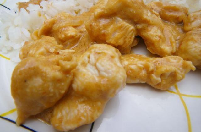 Amincés de dinde au beurre de cacahuètes et jus d'ananas - Photo par moum00