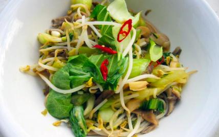 Salade de légumes chinois - Photo par Dorian Nieto