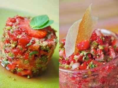 Tartare de fraises - Photo par 750g