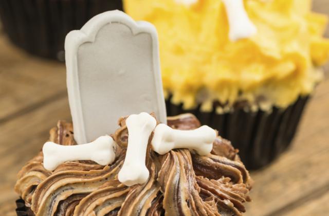 Cupcakes d'Halloween - Photo par Chef Christophe