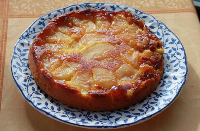 Gâteau renversé aux pommes caramélisées - Photo par virgin5PE