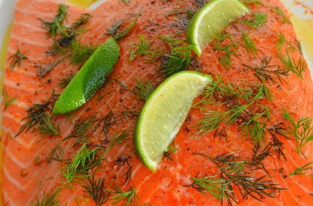 Saumon mariné - Photo par chloef