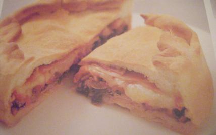 Tourte au fromage de brebis et trévisse - Photo par soulie6