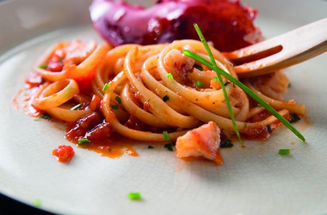 Linguine academia Barilla au homard - Photo par Barilla