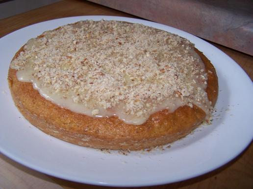 Cake aux carottes et pekan - Photo par lotushomecooking