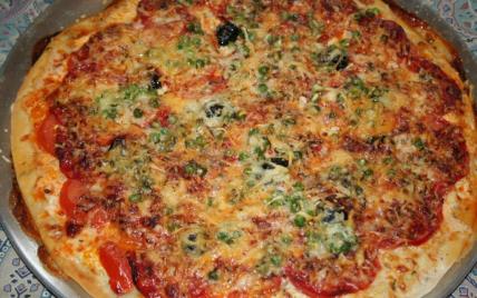 Pâte à pizza facile - Photo par CARDAMOME