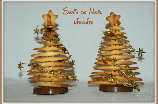 Sapin de Noël biscuité - Photo par vgonza