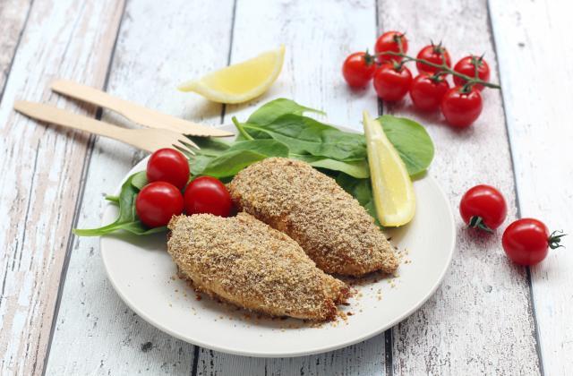 Filets de poulet en croûte de moutarde et épices - Photo par Silvia Santucci
