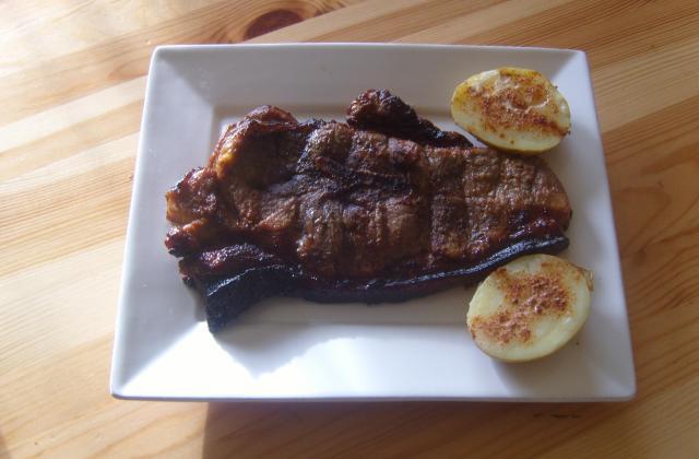 Rouelle au barbecue - Photo par paulte