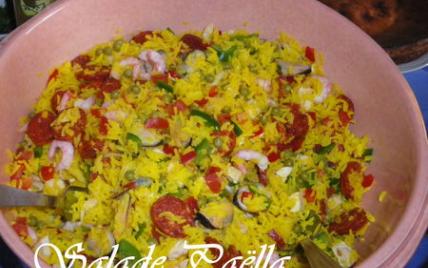 Salade paëlla - Photo par kimnar