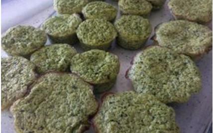 Flan courgettes/brocolis - Photo par lealau
