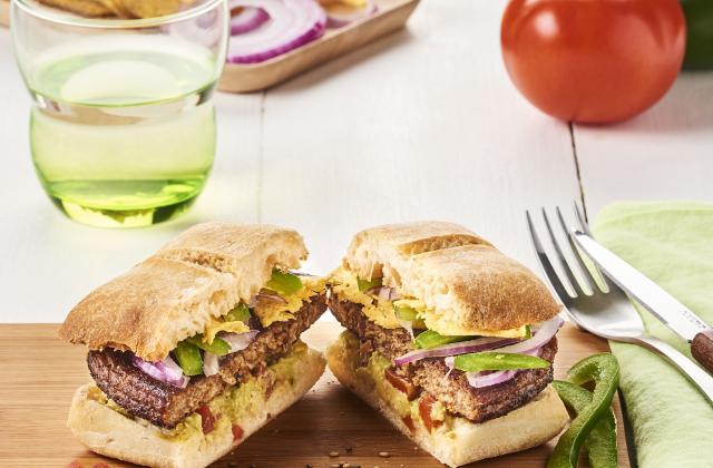Veggie burger mexicains - Photo par Marque Repère