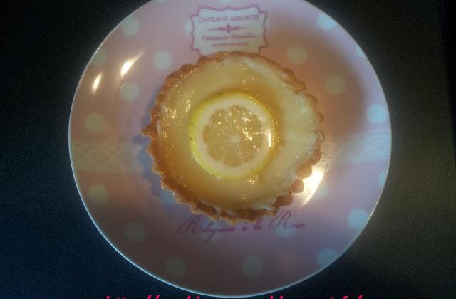 Tartelettes au citron sans oeuf - Photo par La Cuisine De Mimi