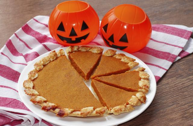 Pumpkin pie ou tarte à la citrouille - Photo par Chef Christophe