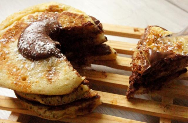 Pancake cake au nutella ! - Photo par Happy-Food