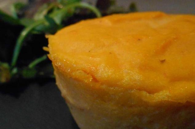 Flan aux carottes & ricotta - Photo par La cuillère aux mille délices