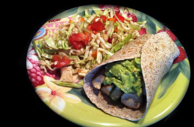 Diet' Burrito: Poulet con Guacamole ! - Photo par wonderalice