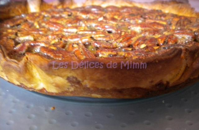 Tarte aux noix de pécan, sirop d'érable et fève tonka - Photo par mimm10