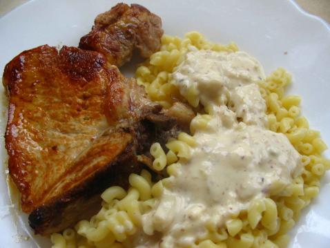 Filet de porc au bleu et aux noisettes - Photo par maquic