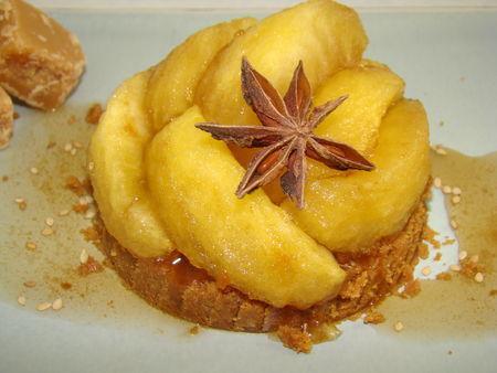 Valse de pommes caramélisées express - Photo par Les Gâteaux Magiques d'Alilo