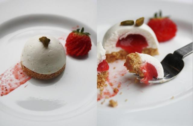 Cheesecake aux fraises revisité - Photo par nonnapapera