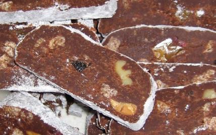 Saucisson au chocolat express - Photo par lacuiskV