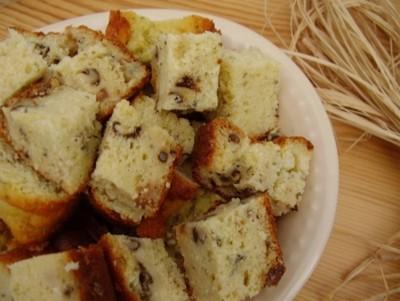 Cake  au roquefort et aux noix, aux parfums de miel et  de romarin - Photo par crosin
