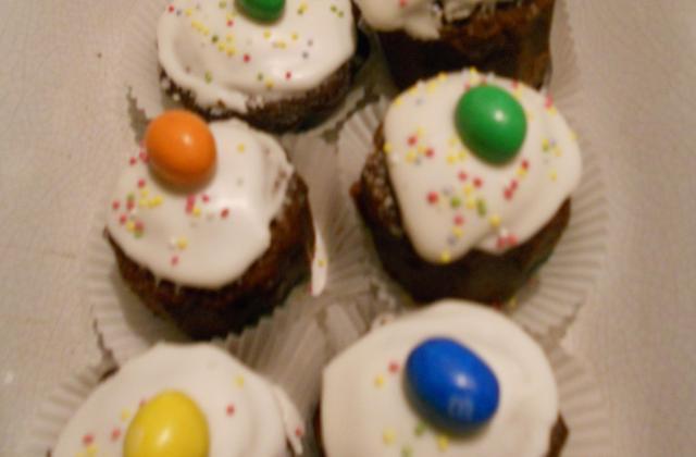 Cupcakes aux M&M's - Photo par MamzelleJeanne