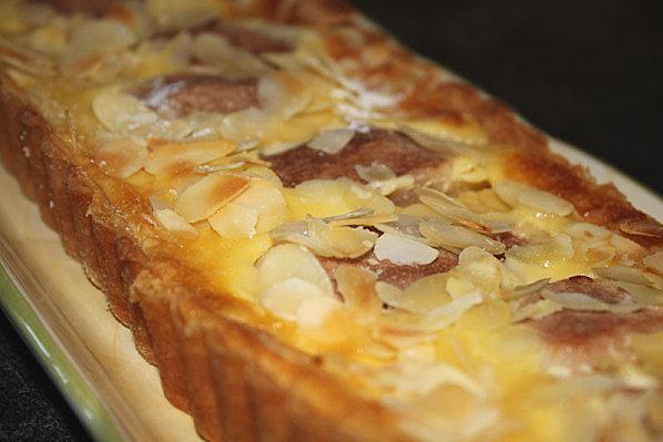 Tarte à la poire et au mascarpone - Photo par patchouka