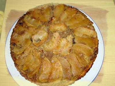 Tatin de pommes et chou blanc - Photo par mamouz