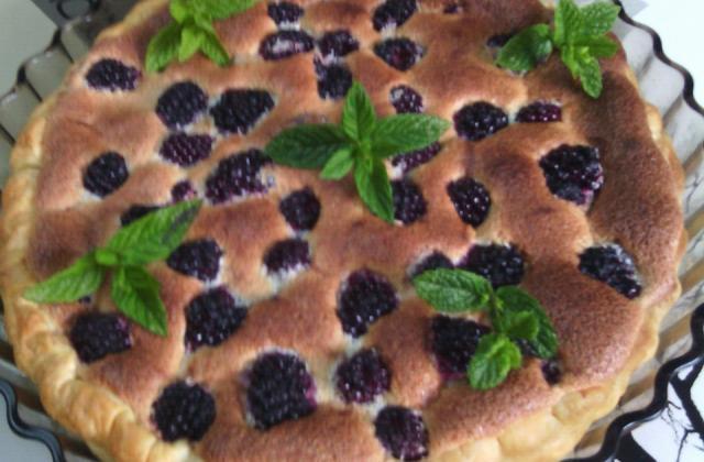 Tarte meringuée aux mûres de Moumouche - Photo par loulou2