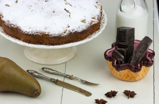 5 gâteaux au chocolat encore meilleurs avec des fruits - Photo par caro94