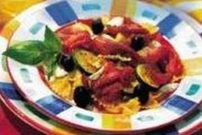Carpaccio, salade de pâtes et légumes à la Provençale - Photo par 750g