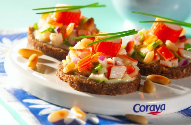 Tartare aux mini bâtonnets Petits Coraya - Photo par Coraya