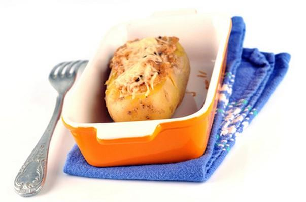 Pommes de terre farcies aux endives - Photo par 750g