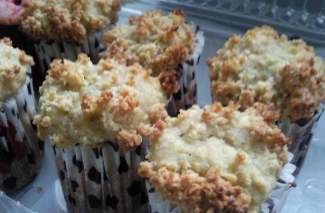 Muffins à la rhubarbe au lait végétal - Photo par vgroll