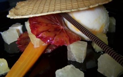 Carottes bio et agrumes en dessert - Photo par lafres