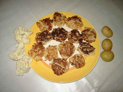 Croquettes de chou-fleur - Photo par 750g