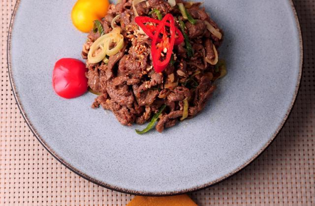 Bulgogi (barbecue coréen) - Photo par AT Korea