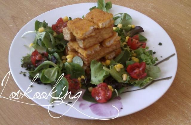 Tour dorée de poisson pané et frites - Photo par Lovkooking