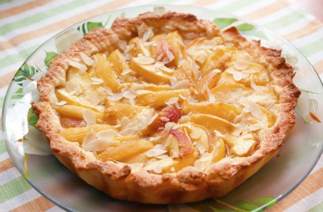 Tarte aux abricots à la crème d'amandes - Photo par Chef Damien