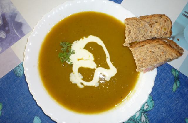 Soupe au potiron facile à réaliser - Photo par miss78B