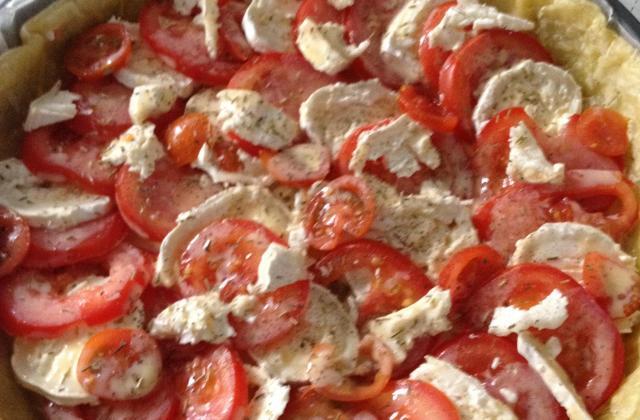 Tarte tomate mozzarella maison - Photo par AnthonyReg